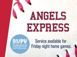 PVL Metrolink Angels Express Train