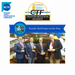 RCTC PVL Transit/Rail Project of the Year