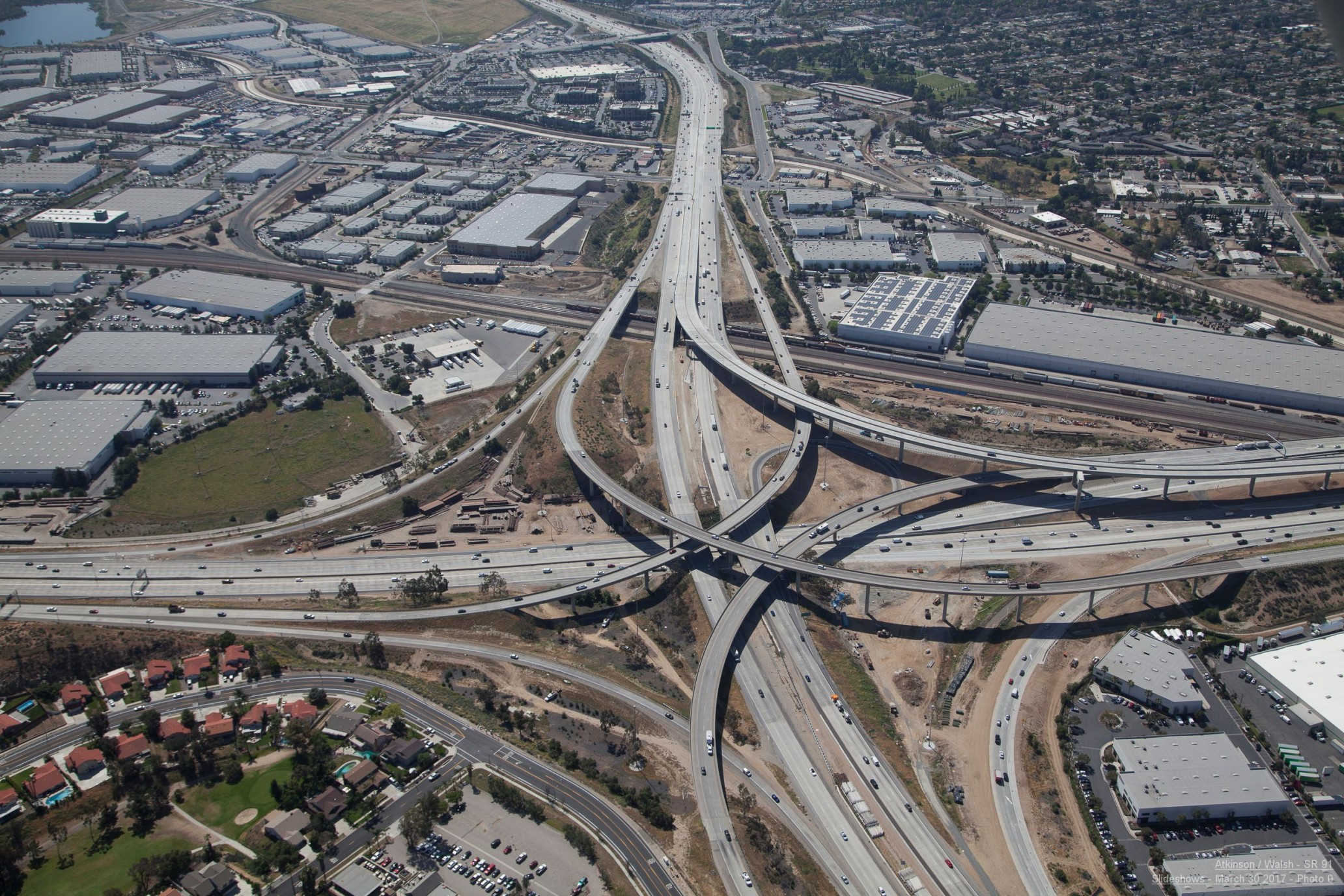 Riverside County Transportation Commission Projects SR-91 Project Hero Image