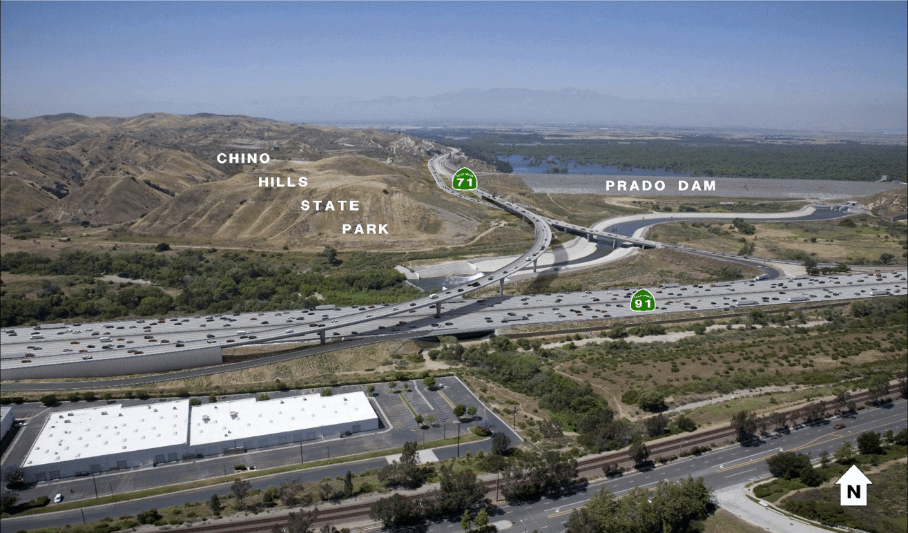 71/91 Interchange in Corona nominated for state funding