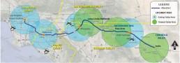 RCTC Coachella Valley San Gorgonio Pass Corridor Rail Corridor Service Header Image