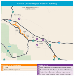 Eastern County Projects with SB1 Funding