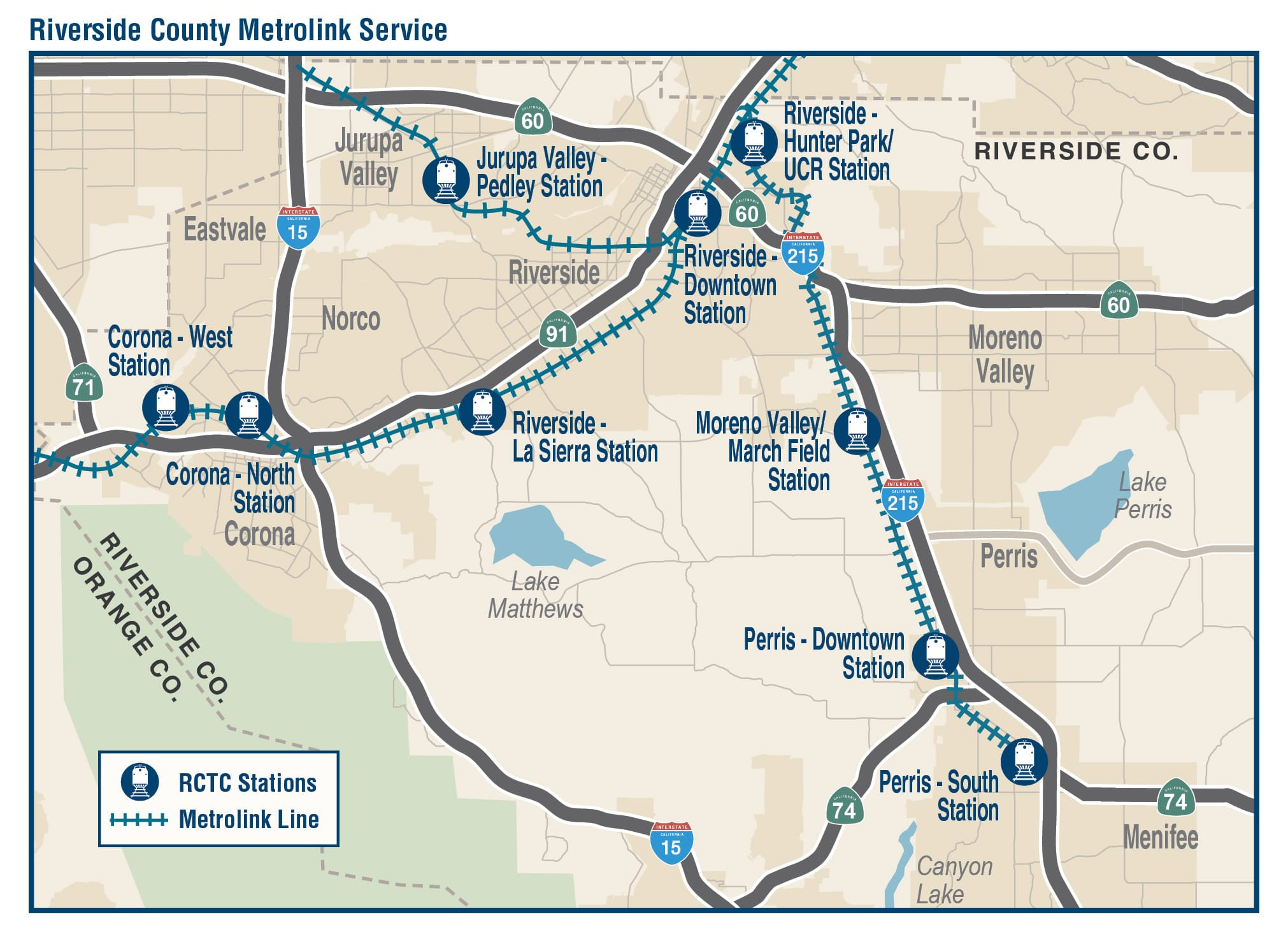 Passenger Rail - Riverside County Transportation Commission