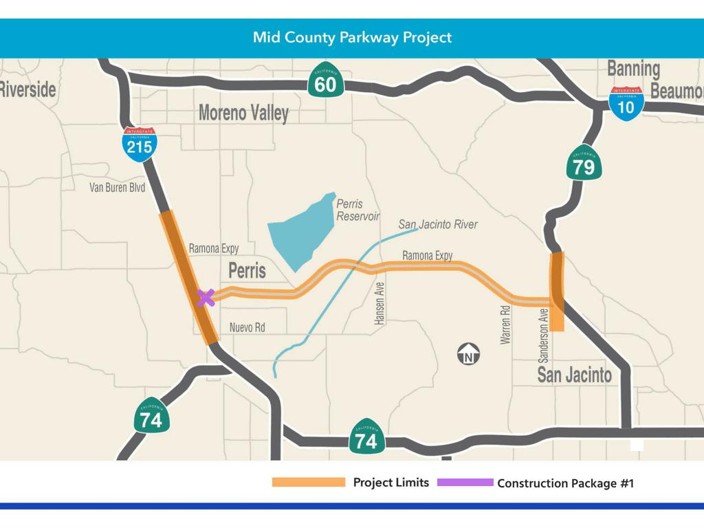 I-215 Perris Begins Construction - RCTC