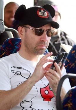Passenger Mario Tovar