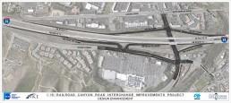 RCTC I-15/Railroad Canyon Interchange Project Map Image