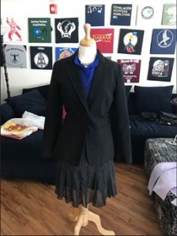 photo of a work outfit on a manikin